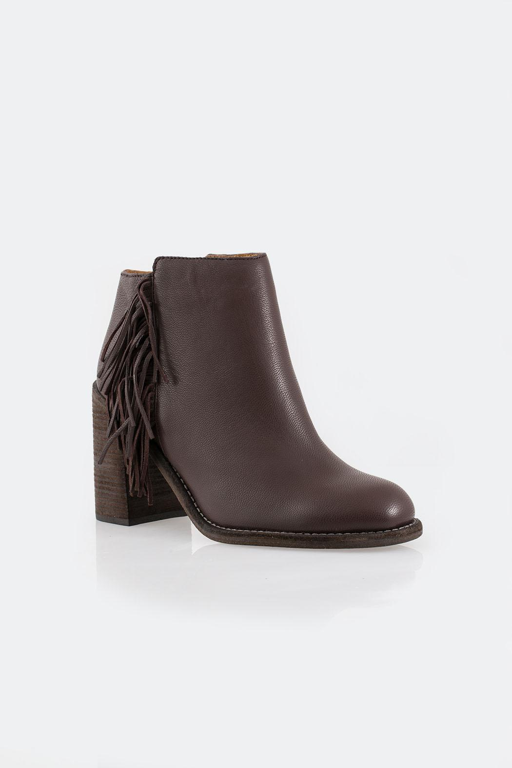 See By Chloe Browm Fringed Boot - Side Cropped Image