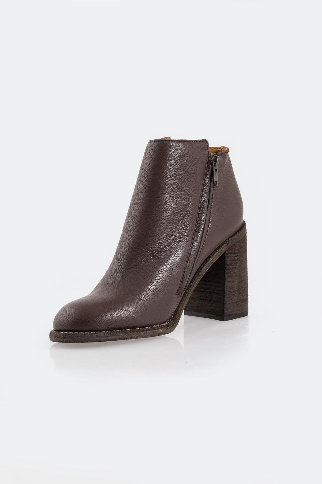 See By Chloe Brown Fringed Boot - Main Image
