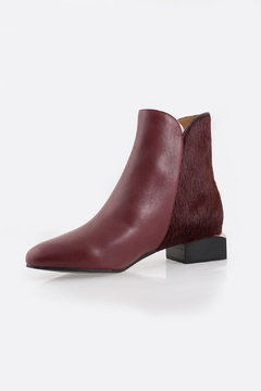Shoptiques Product: Burgundy Ankle Boot