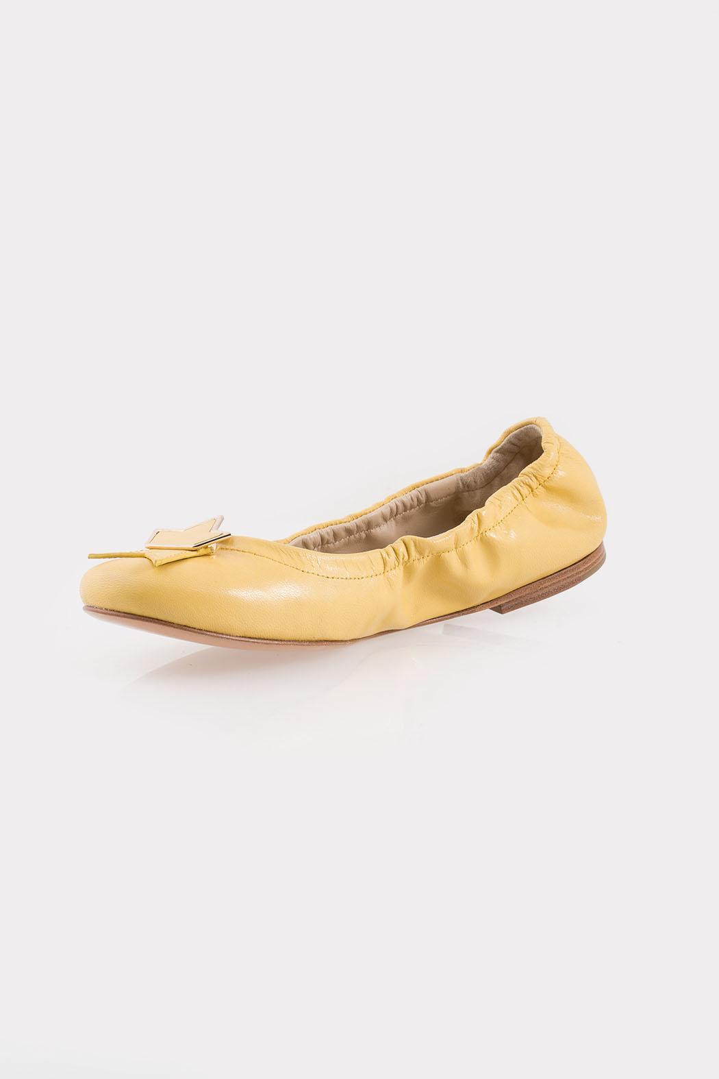 See By Chloe Yellow Star Flats - Main Image