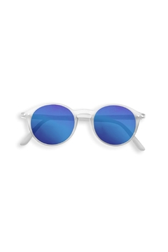Shoptiques Product: White Mirrored Sunglasses