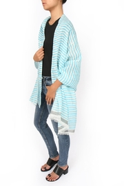 SEE Design Linen Scarf - Side cropped