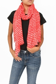 SEE Design Wool Graphic Scarf - Front cropped
