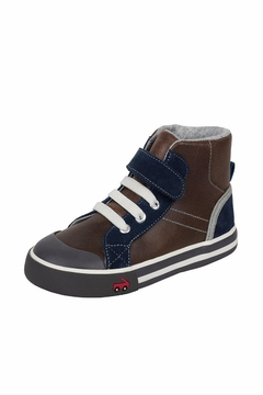Shoptiques Product: Leather Hightop Sneaker