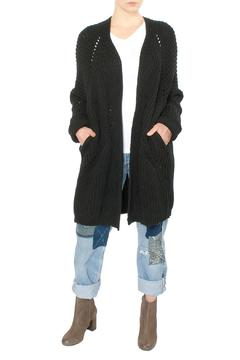 Shoptiques Product: Black Long Cardigan