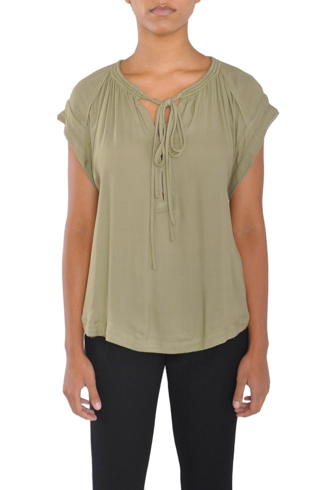 See U Soon Green Blouse Top - Main Image
