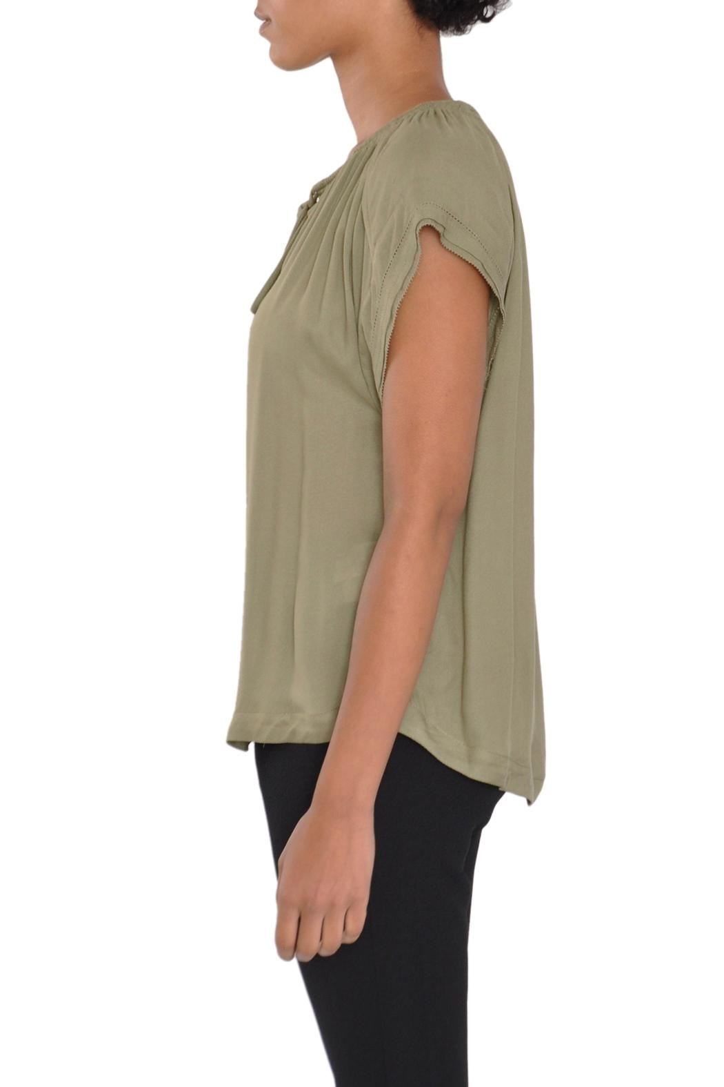 See U Soon Green Blouse Top - Front Full Image