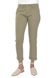 See U Soon Green Khaki Jeans - Product Mini Image