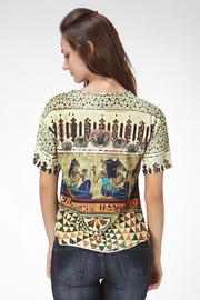See You Monday Egypt Mix Print Top - Side cropped