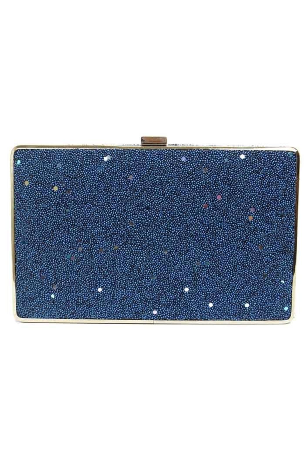 Sondra Roberts Seed Bead Clutch - Front Cropped Image