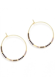 Amano Trading Seed Bead Hoops - Product Mini Image
