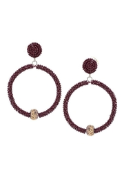 Lets Accessorize Seed Bead Hoops - Product Mini Image