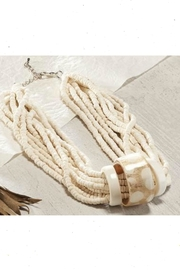 Charlie Paige Seed-Bead Layered Necklace - Product Mini Image