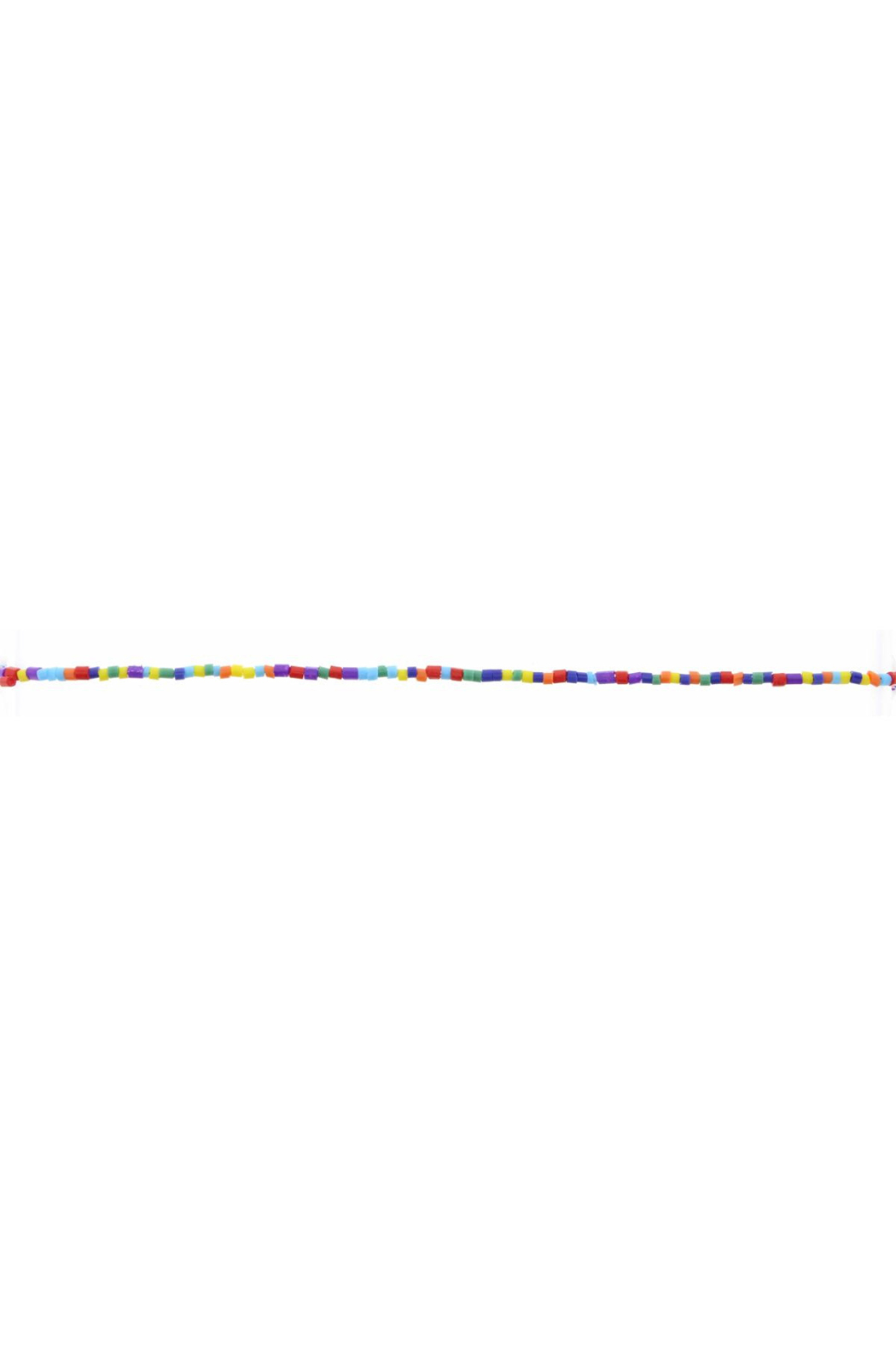 Jane Marie Seed Bead Necklace - Multicolor - Main Image