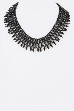 Shoptiques Product: Seed Beads Collar-Necklace