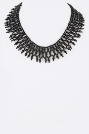 Nadya's Closet Seed Beads Collar-Necklace - Front cropped