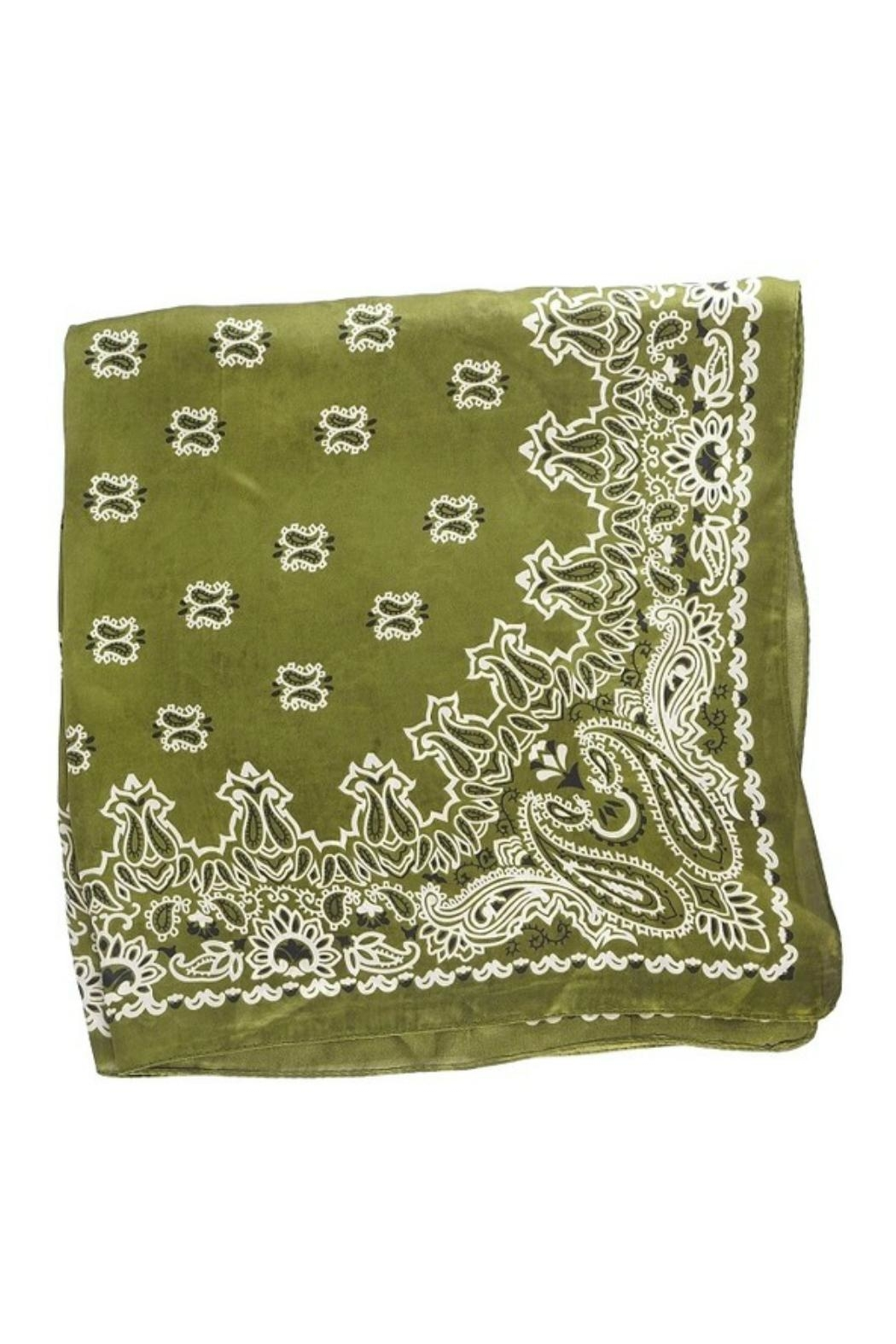 Olive & Pique Seeing Stars Scarf - Front Full Image