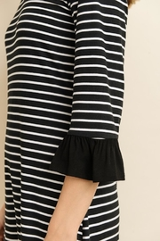 Les Amis Seeing Stipes Midi - Back cropped