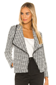 Shoptiques Product: Seeing Things Tweed Jacket In Black