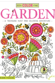 Wellspring Seek and Find Garden Coloring Book - Product Mini Image