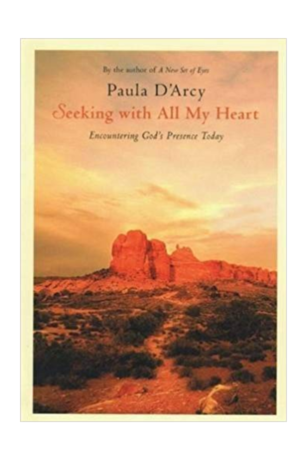 Crossroads SEEKING WITH ALL MY HEART BY PAULA D'ARCY - Main Image