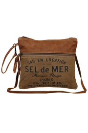 Myra Bags Sel de Mer Crossbody - Product Mini Image