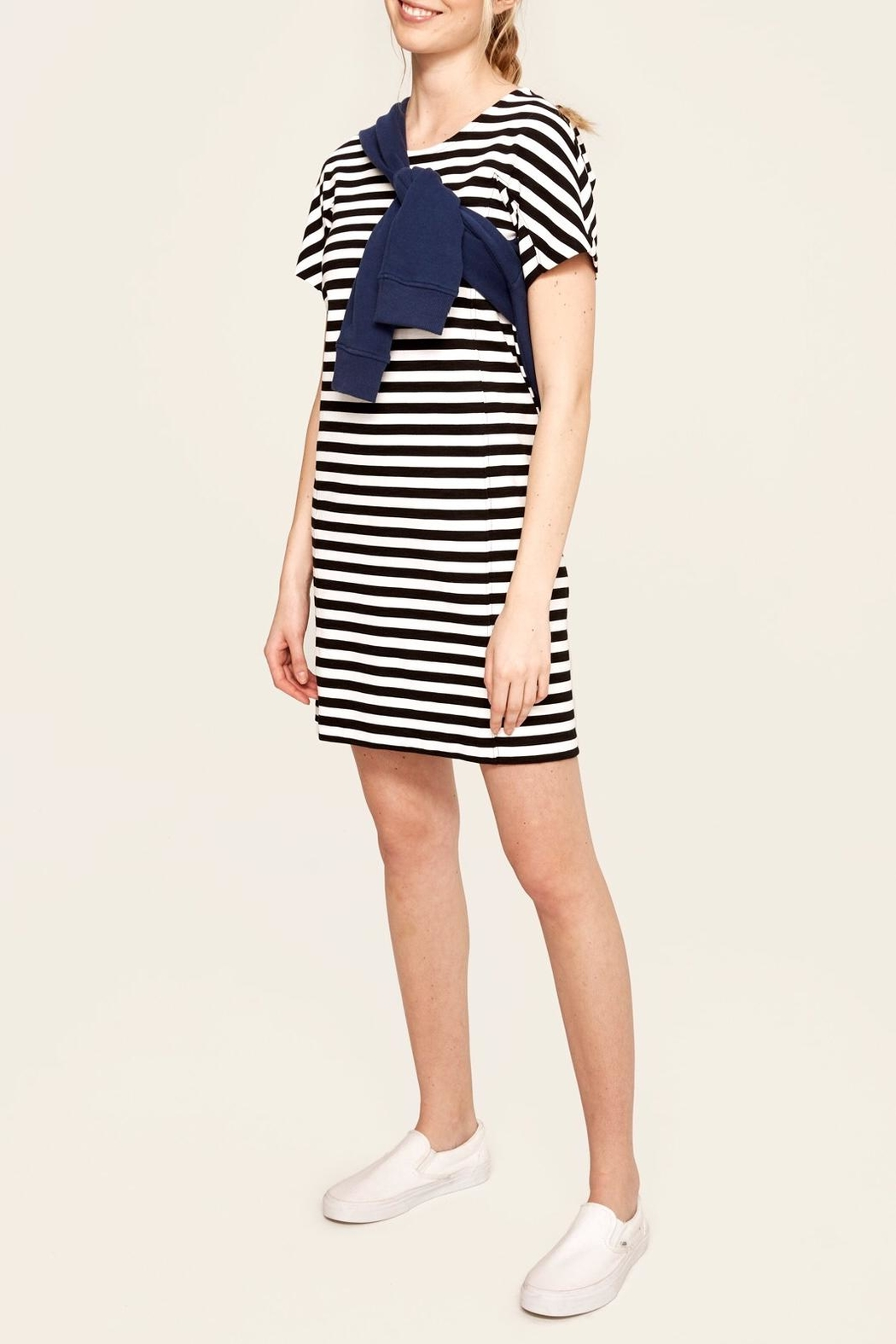 Lole Selah Striped Dress - Front Cropped Image