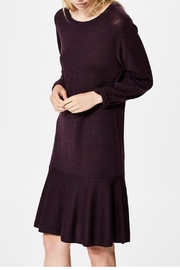 Selected Femme Merino Wool Dress - Front cropped
