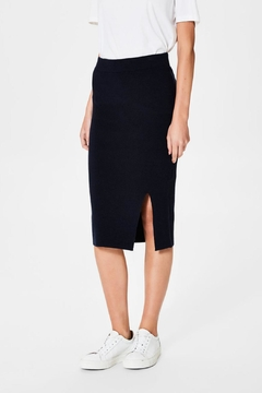 Selected Femme Viscose Knit Skirt - Product List Image