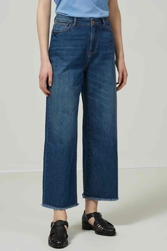 Shoptiques Product: Wide Cropped Jeans