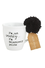 Collins Paintings Selectively Polite Mug - Product Mini Image