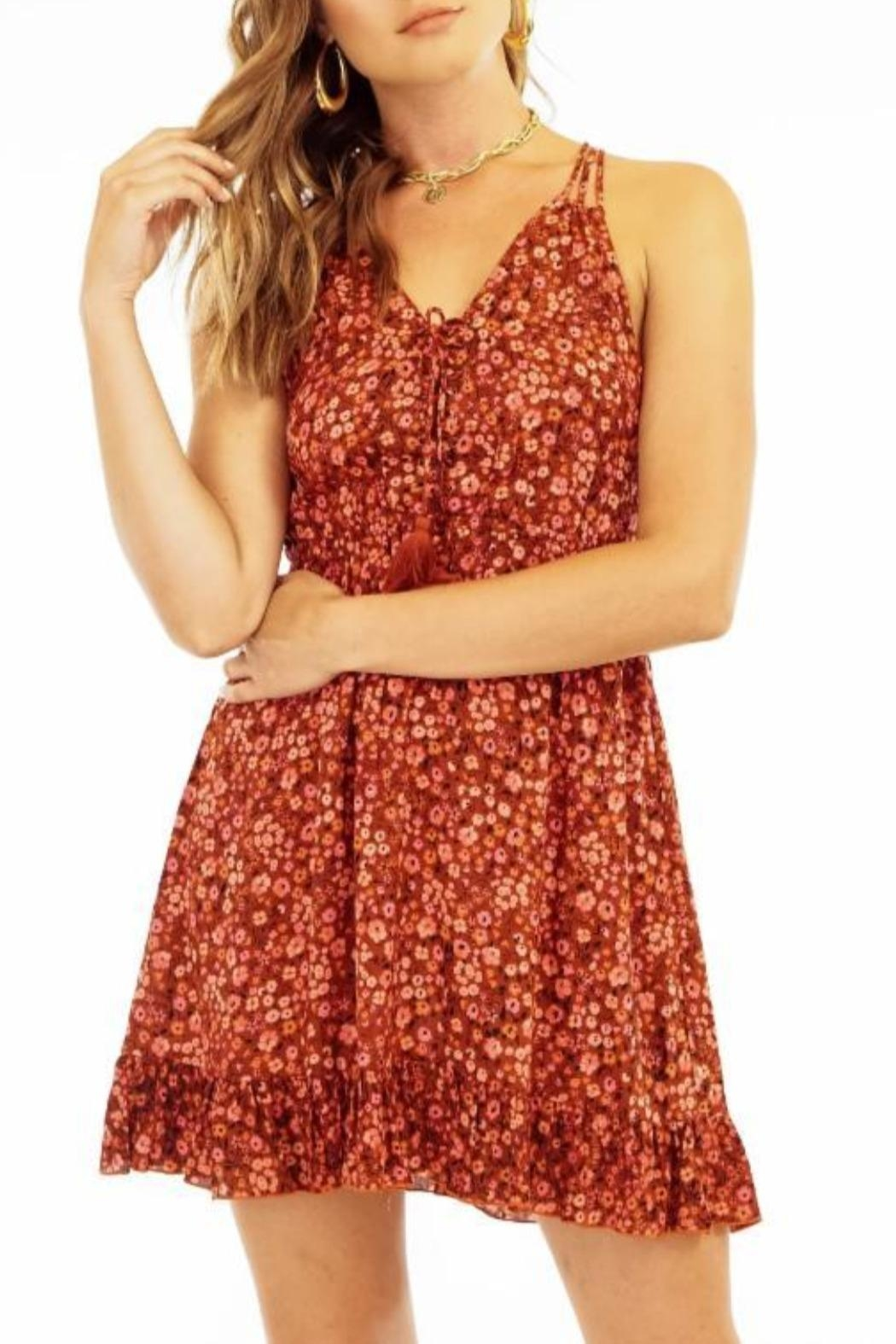 Tiare Hawaii Selena Dress - Front Cropped Image