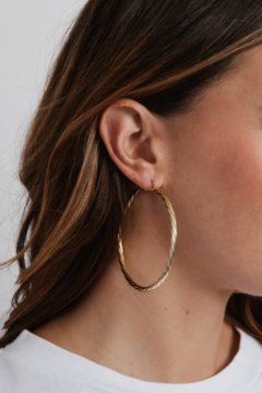Miranda Frye Selena Hoop Earrings - Alternate List Image