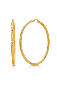 Miranda Frye Selena Hoop Earrings - Product List Image