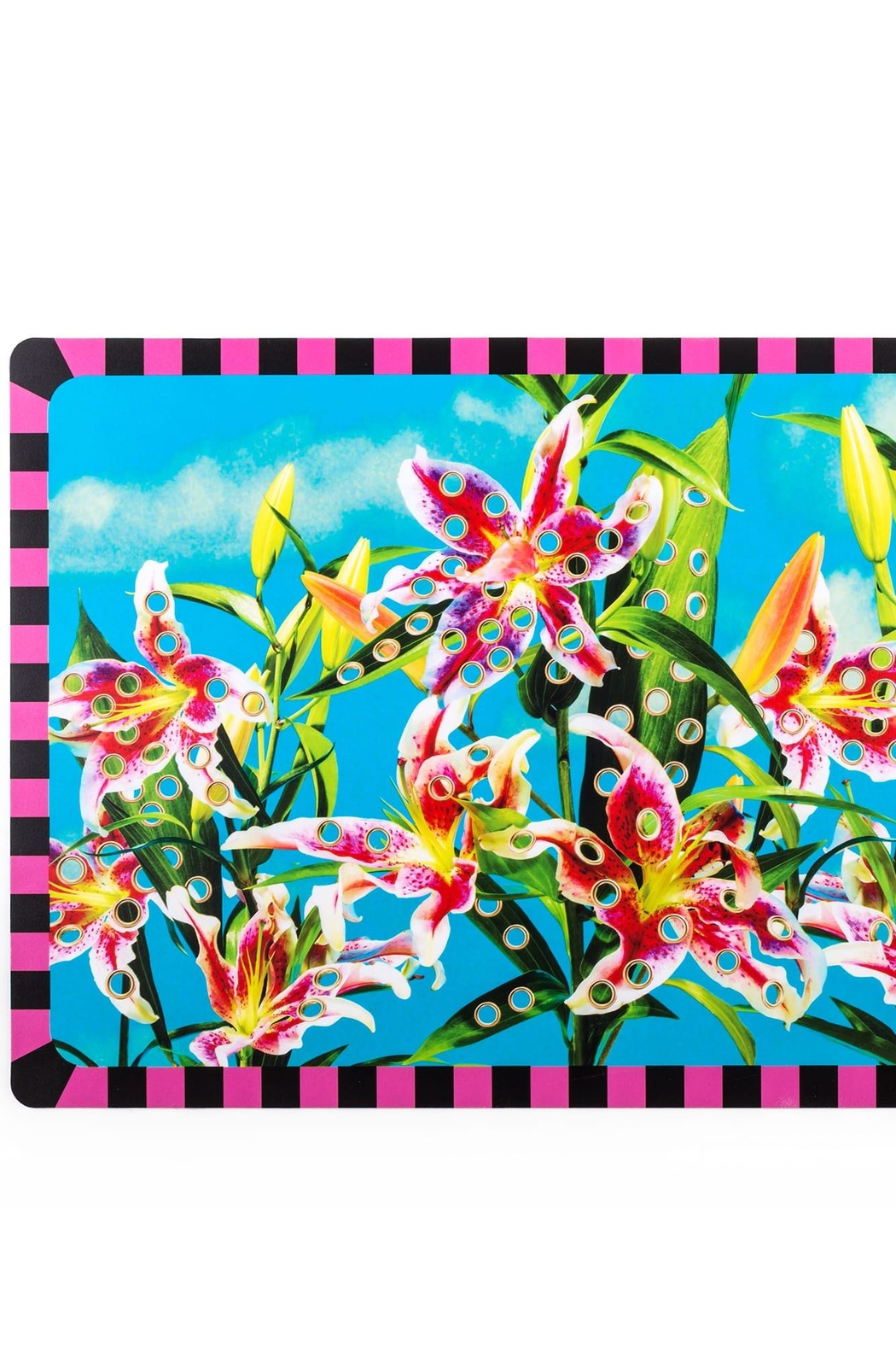 Seletti Flowers Tablemat - Side Cropped Image