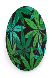 Seletti Porcelain Plate Weed - Product Mini Image