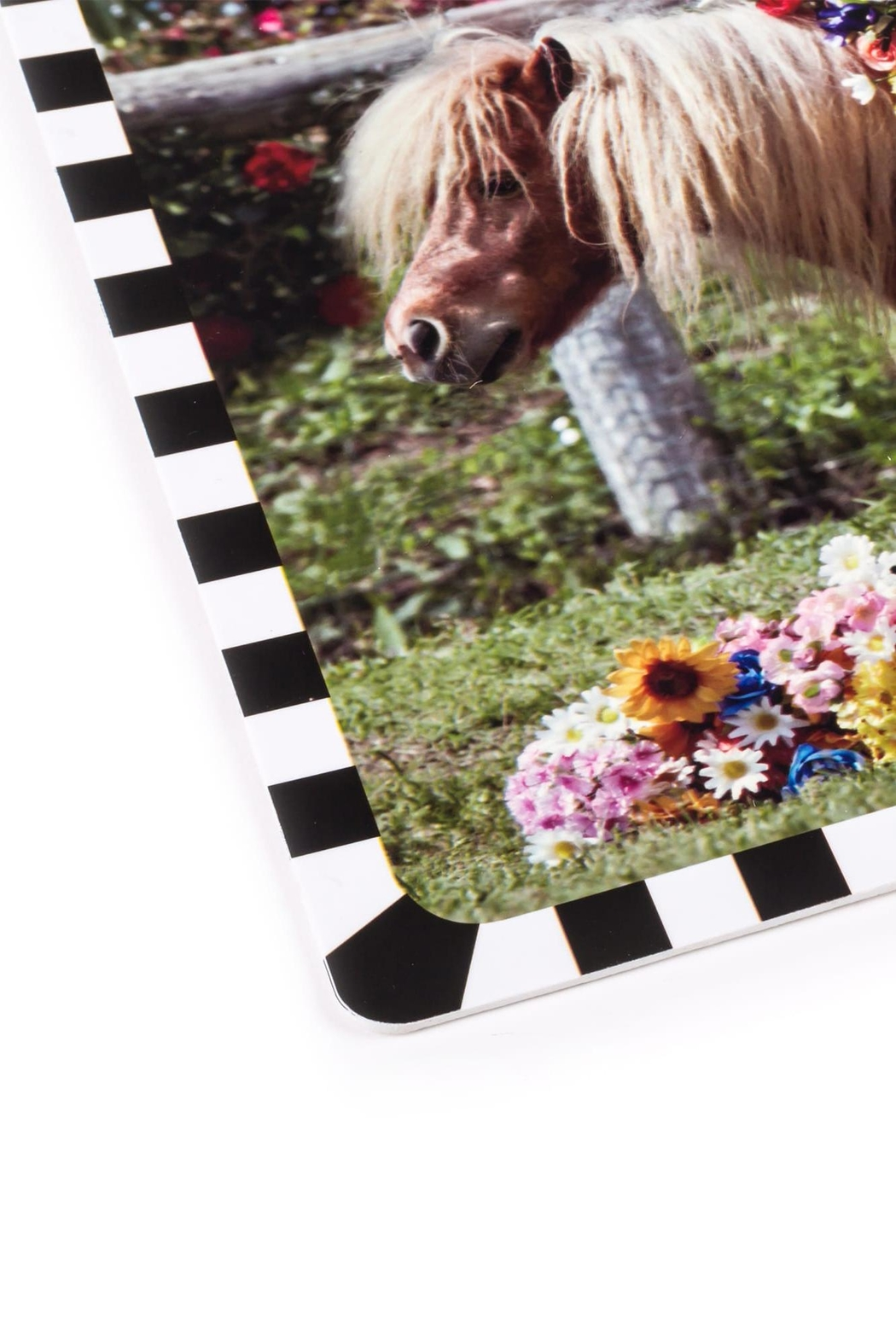 Seletti Tablemat Pony - Side Cropped Image