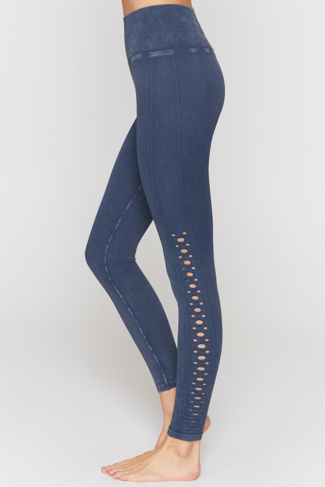 Spiritual Gangster  Self Love Seamless Legging - Front Cropped Image