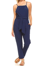 Made by Mila Self-Tie Crepe Jumpsuit - Product Mini Image