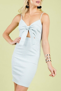 Shoptiques Product: Self Tie Dress