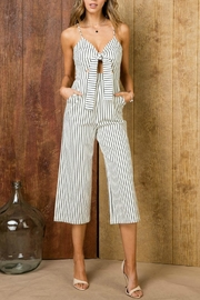 Pretty Little Things Self-Tie Midi Jumpsuit - Product Mini Image