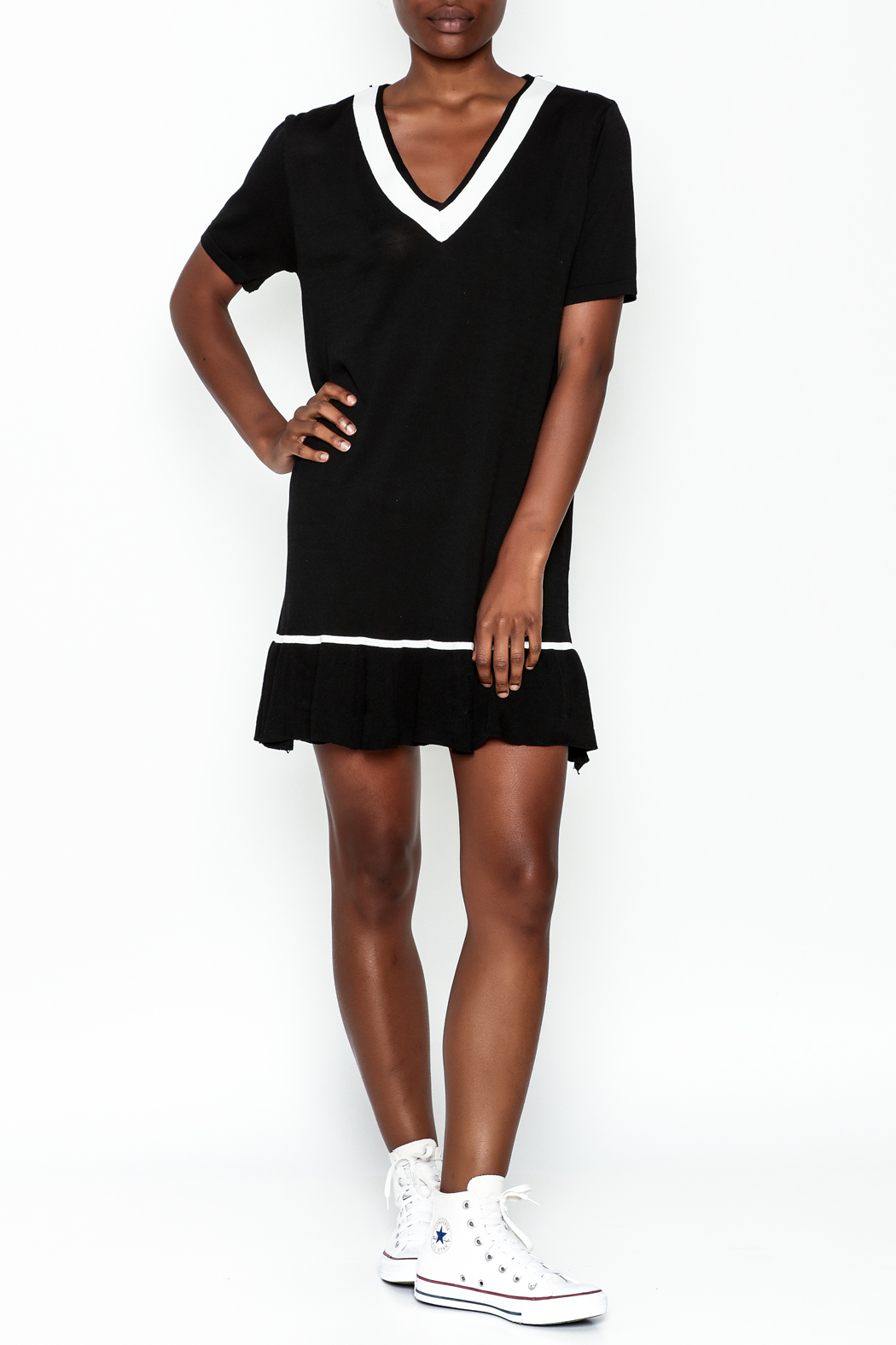 Selfie Couture Sporty Dress - Side Cropped Image