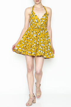 Shoptiques Product: Yellow Floral Dress
