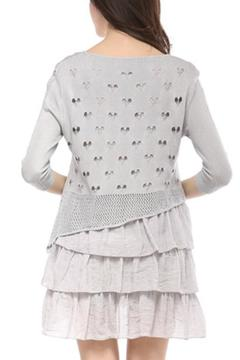 Selfie Couture 3-Ruffle Layered Knit - Alternate List Image