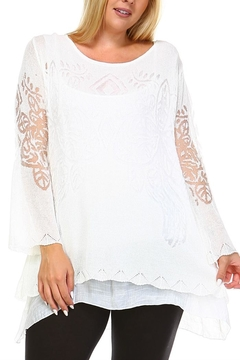 Selfie Couture Layered Long Sleeve Top - Product List Image
