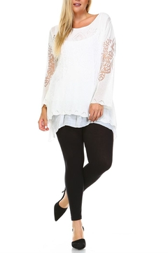 Selfie Couture Layered Long Sleeve Top - Alternate List Image