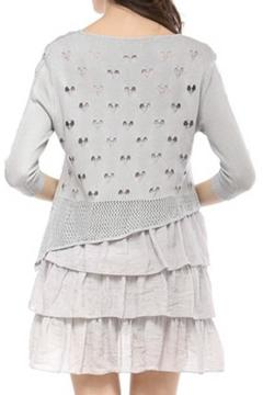 Shoptiques Product: Layered Knit Muslin Top