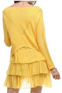 Selfie Couture Layered Knit Tunic - Alternate List Image