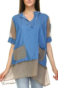 Selfie Couture Mixed Media Shirt - Product List Image