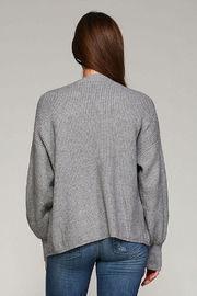 Selfie Couture Open Front Cardigan - Side cropped
